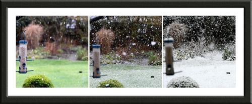 the start of snow