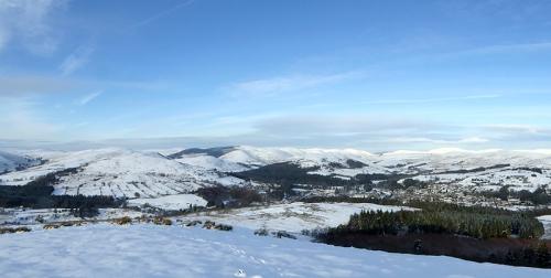 warbla panorama  snow