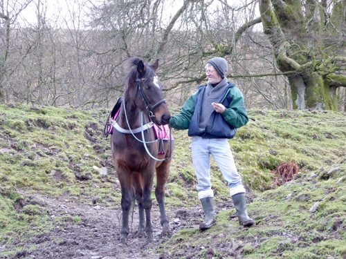 Barry with horse