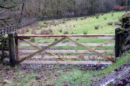 gate at Springhill