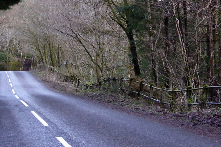 Road above the Esk