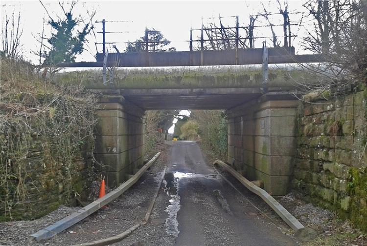 Ecclefechan railway bridge