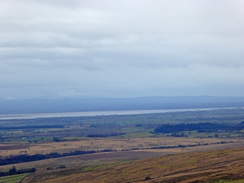 solway firth from Whita