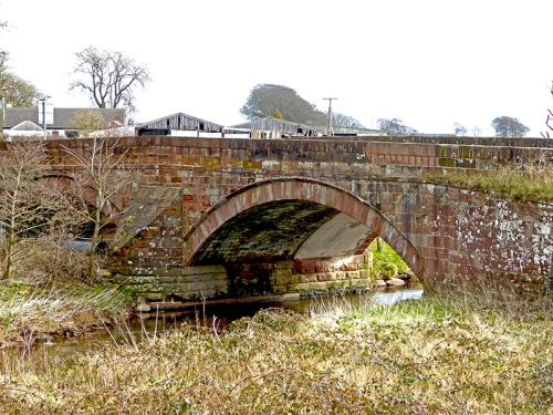 Kirtle Water bridge at Rigg
