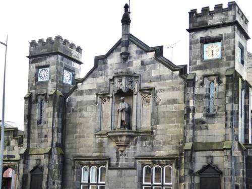 Leith building