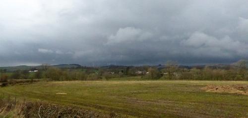 gloomy weather from Gair