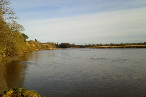 River Eden near Rocklilffe