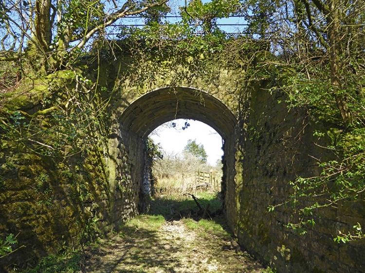 old railway bridge at Gilnockie