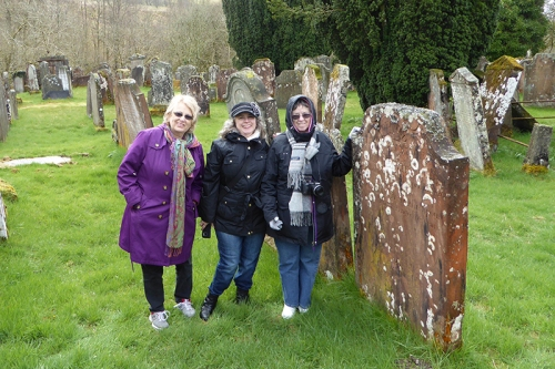 Wauchope Churchyard with Theresa