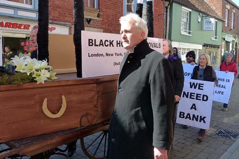 Glastonbury bank closure