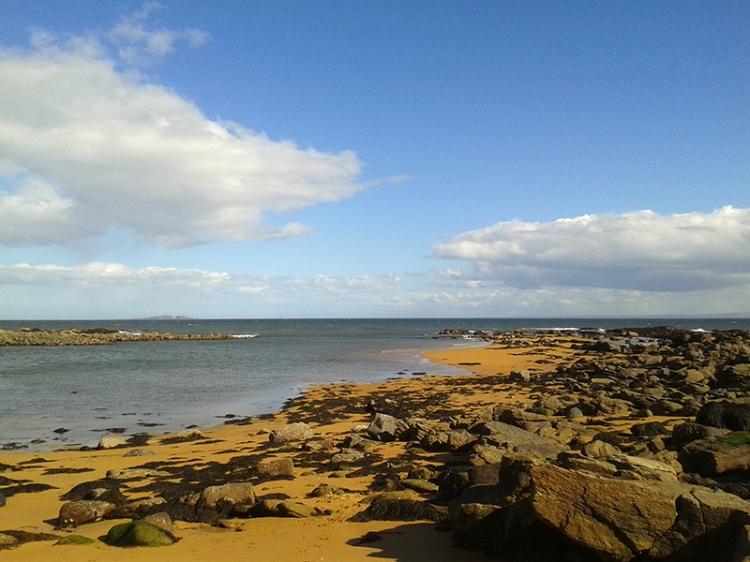 Anstruther beach