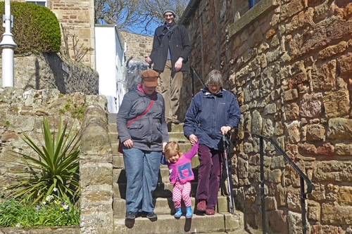 Matilda at Crail