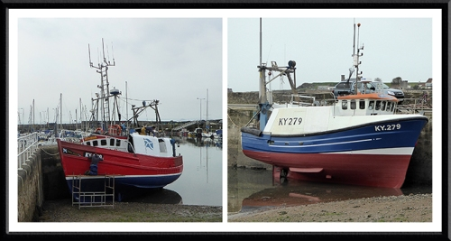 fishing boats anstruther
