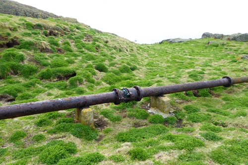 pipe for fog horn
