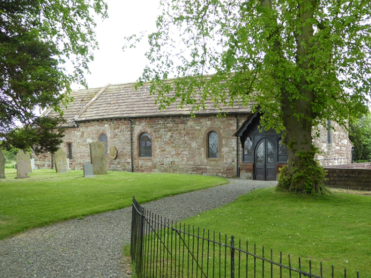 The church of St Giles at Great Orton