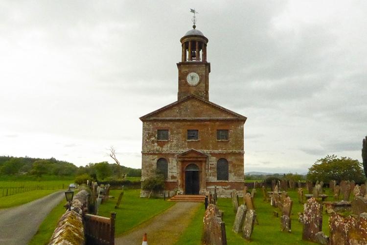 Kirkandrews-on-Esk church