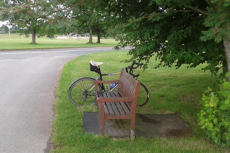 Fairly speedy bike at Newtown