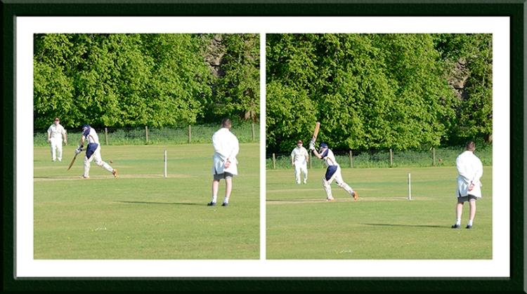 cricket on castleholm
