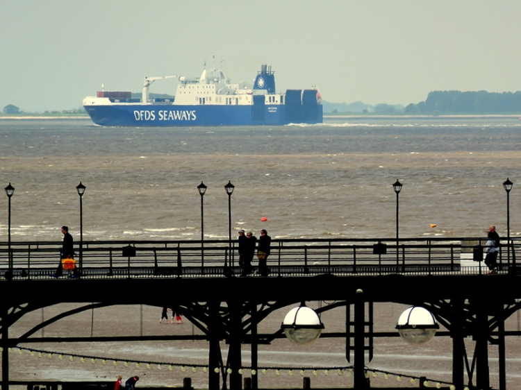 The Humber carries 14% of Britain's sea trade.
