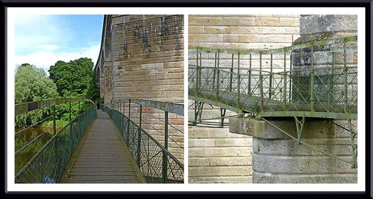 Roxburgh Viaduct footbridge