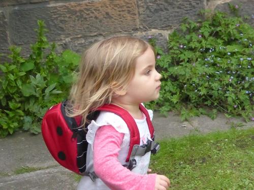 Matilda running