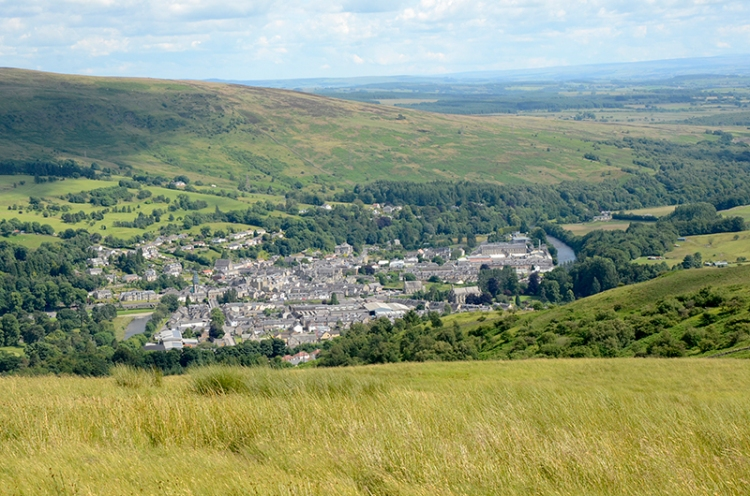Langholm from Timpen