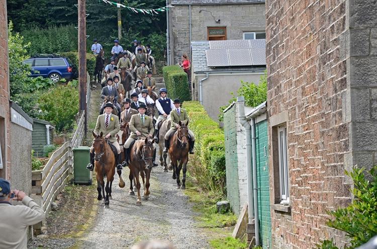 Castle Craigs ride out