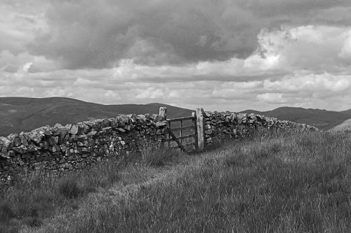 Meikleholm Hill gate