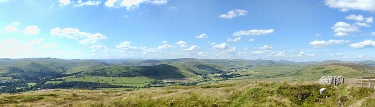 Panorama from Whita