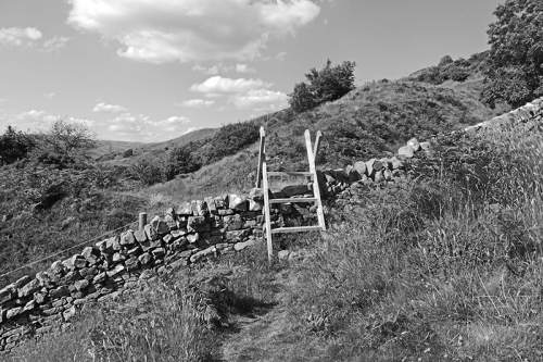 Quarry wall stile
