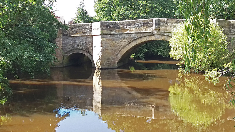 River Rye bridge