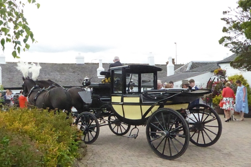 gretna Green carriage