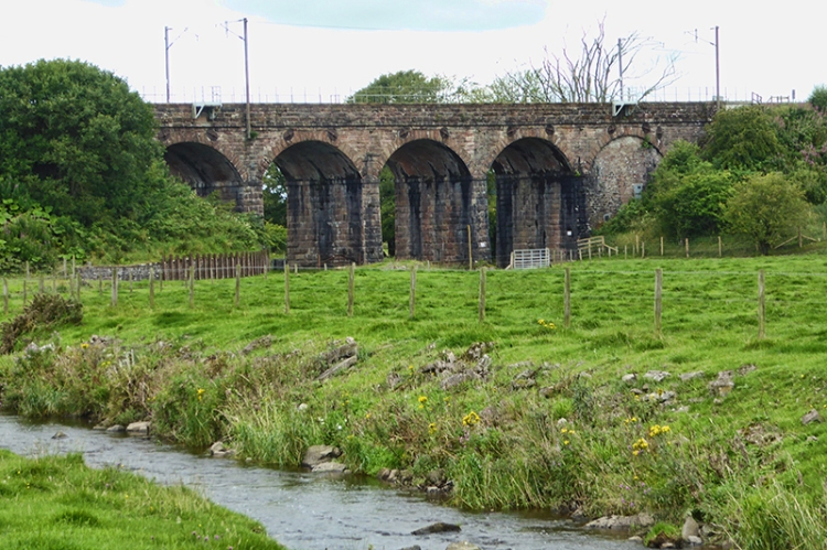 Viaduct over Mein Water