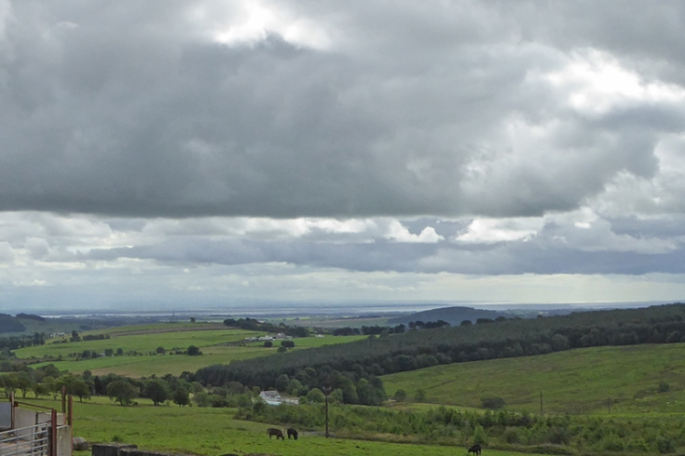 Looking back over the Solway from Bankshill