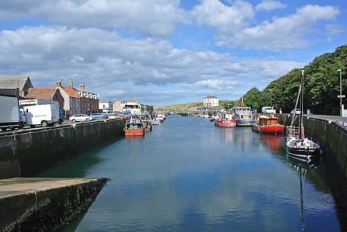 Eyemouth harbour