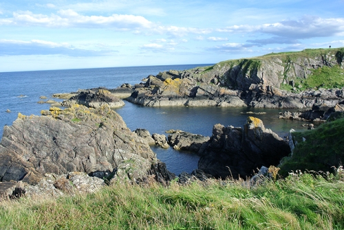 View from Eyemouth