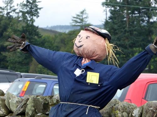 Benty scarecrow