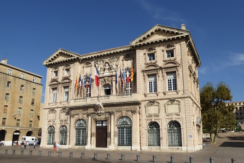 Marseille town hall