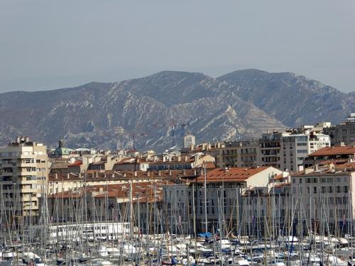 Marseille mountains