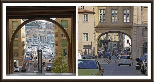 Marseille arches