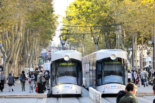 Marseille trams
