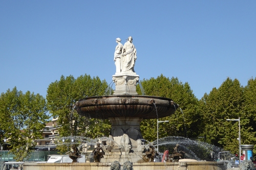 fountain in Aix