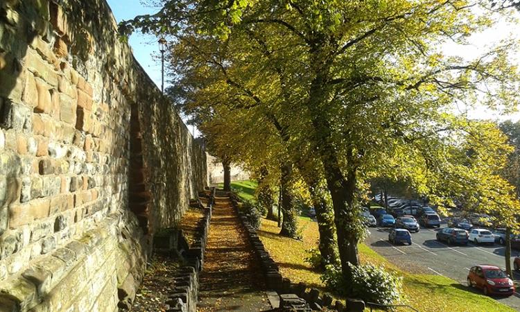 Carlisle City walls