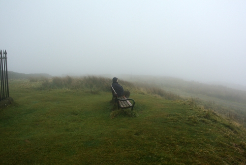 Mist at the monument