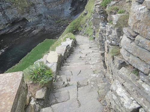Whailigoe steps