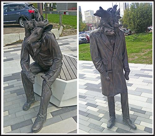 Edmonton statues