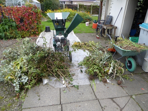 garden clippings