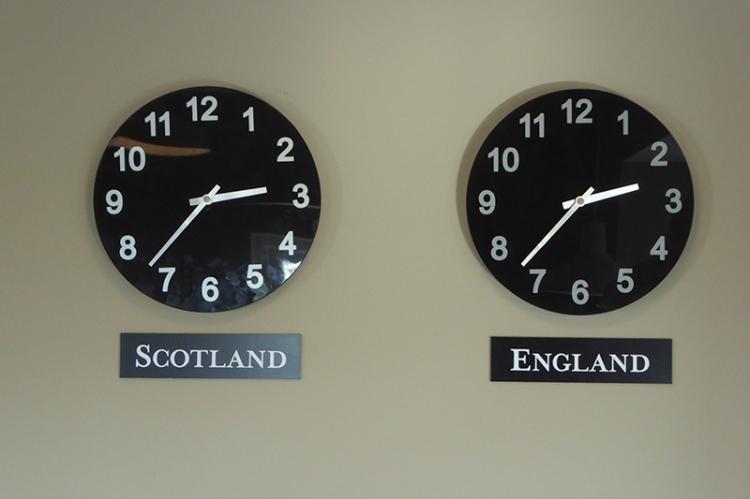 old toll bar clocks
