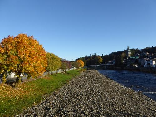 River Esk in langholm