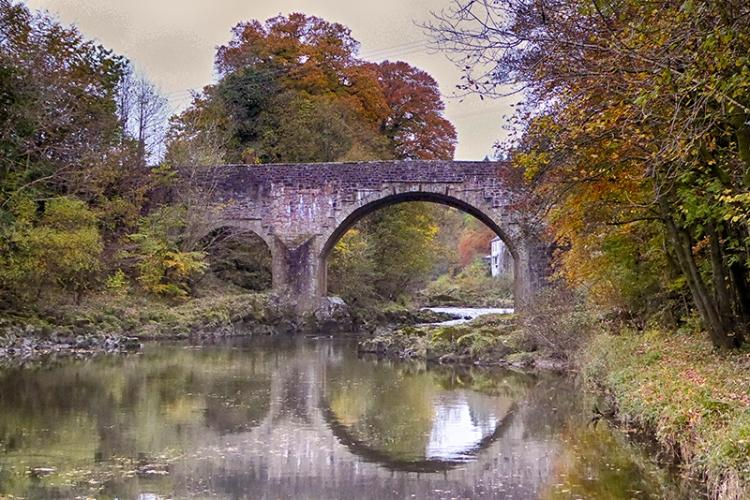 Skippers Bridge in Autumn